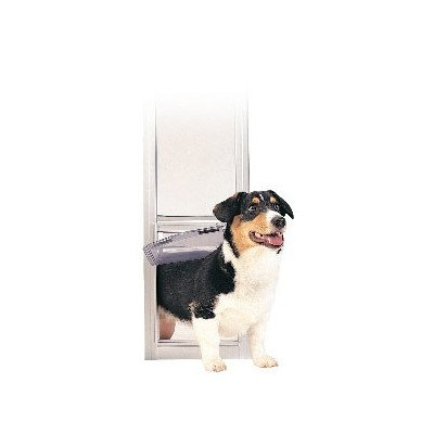 Deluxe Pet Panels For Sliding Glass Doors Size: Large-Tall front-217154