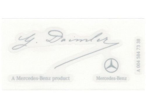 genuine-oem-mercedes-benz-g-daimler-signed-windshield-sticker-signature-decal-clear-label