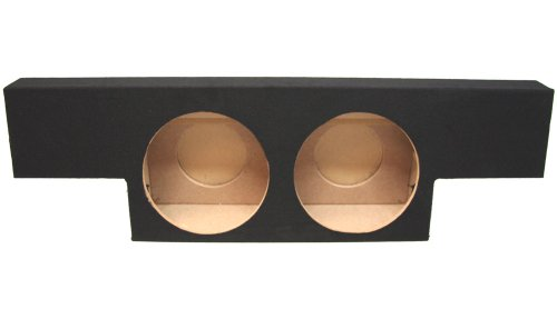 "Asc Chevy Silverado Or Gmc Sierra 1500 Non-Hd Crew Cab Truck 2001-2006 Dual 12"" Subwoofer Custom Fit Sub Box Speaker Enclosure"