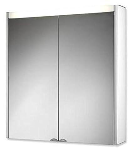 Spiegelschrank DekorALU LS Korpusseiten: eiche truffel, (Foto zeigt: weiß), 124612010-0637