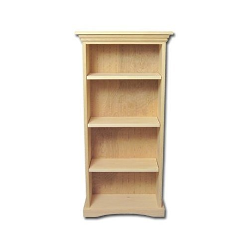 Amazon.com: New Solid Wood Bookcase Kit - Unfinished Wood Pine