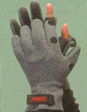 Glacier Glove Kenai Neoprene Palm with Polartec Back, Slit Finger by Glacier Glove
