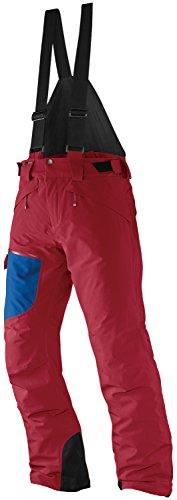 SALOMON(サロモン) メンズスキーパンツ チルアウト ビブ パンツ L36615000 VICTORY RED×UNION BLUE L