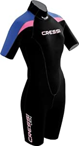 Cressi Shorty Ladies 1mm Wetsuit (Medium)