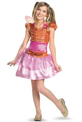 Winx Club Stella Classic Costume, Pink/Orange, Small/4-6x