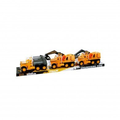 DDI 1475906 Friction Powered Construction Trucks