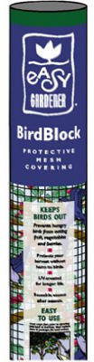 Easy Gardener 602 BirdBlock 14-by-45-Feet Protective Netting