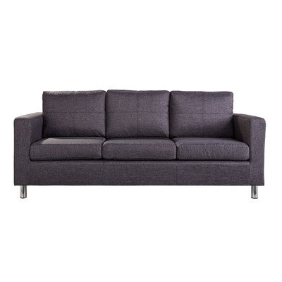Leader Lifestyle Oxford 3 Seater Sofa, Aston Grey