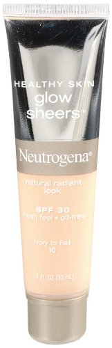 Neutrogena Healthy Skin Glow Sheers SPF 30 Ivory To Fair 10 1.1 Ounce