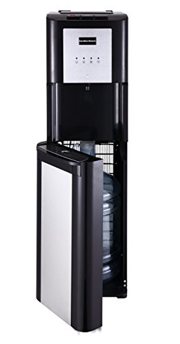 Hamilton Beach BL-1-4A Hot, Cold and Room Temperatures Bottom Loading Water Cooler Dispenser, Black (Mini Water Cooler Dispenser compare prices)
