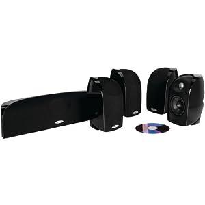 Polk Audio TL250 Speaker (5-pack, Black)