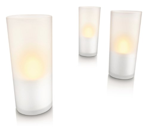 Philips Imageo LED Rechargeable Candle Lights, White