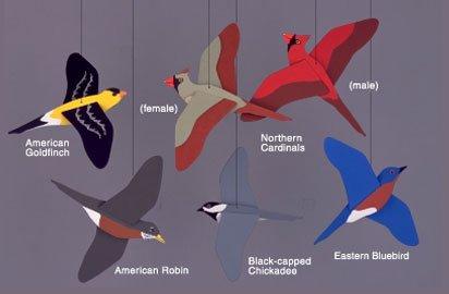 Songbirds Mobile - 1