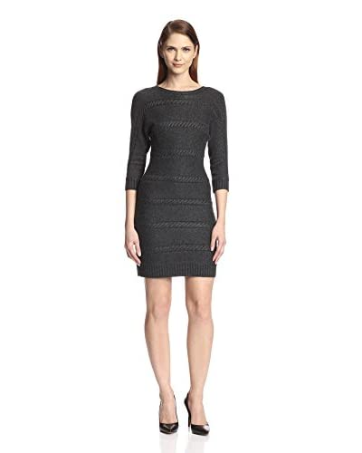 Marc New York Women's Cable Knit Sweater Dress