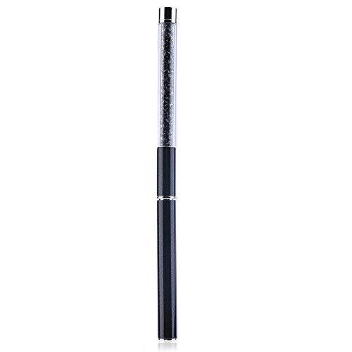 Kinghard 1PCS GEL & Acrylic Nail Art Tips Design Dotting Painting Pen Polish Brush Set (Black) (Acrylic Paint Set 48 Count compare prices)