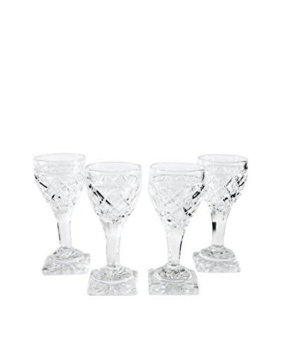 Set of 4 Petite Cordial Glasses