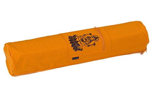 lakshmi-yogistar-yoga-bag-cotton-65-x-14-cm-saffron
