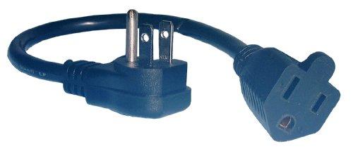 """Philmore Right Angle Mini Extension Cord, SJT 16/3, 12""""; 48-127 (1)"""