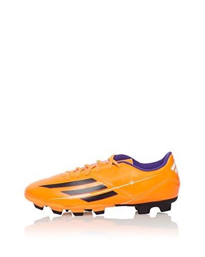 Adidas Scarpa Da Calcio F5 Trx Fg Moule Similicuir [Arancione/Violetto]