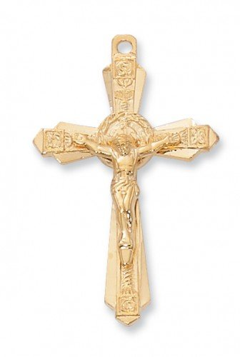 Gold Filled Solid .925 Sterling Silver Crucifix