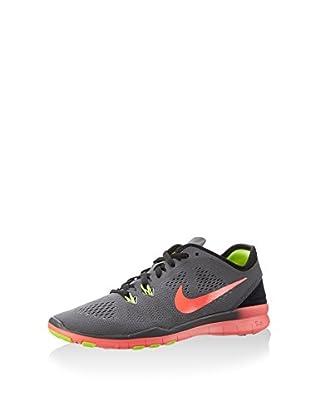 Nike Zapatillas Free 5.0 TR Fit 5 (Gris Oscuro / Naranja)
