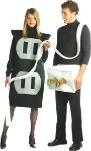 Plug In Outlet Socket Halloween Couples Costume Set  sc 1 st  Halloween Costumes 2010 & Halloween Costumes 2010: Plug In Outlet Socket Halloween Couples ...