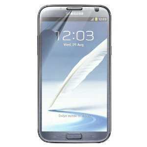 Samsung Galaxy Note II Clear Screen Protector (Pack of 3) - by Mobi Lock?