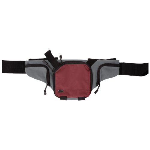 5.11 Select Carry Pistol Pouch Tactical Waist Belt Bag Hiking Travel Code Red