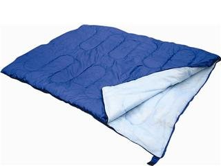 Double Sleeping Bag Great For Camping And Caravaning