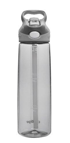 Contigo Addison Water Bottle, 24-Ounce, Smoke Color: Smoke Home & Kitchen front-473132