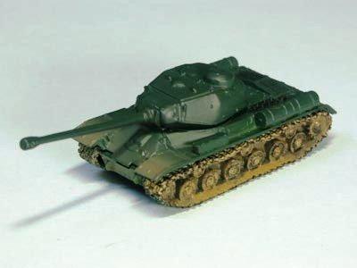 ソビエト軍 JS-2 重戦車 m型 単色迷彩(グリーン系)