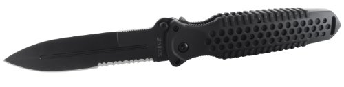 Old Timer Ma5S Safe-T-Grip Folding Knife With Partially Serrated Blade