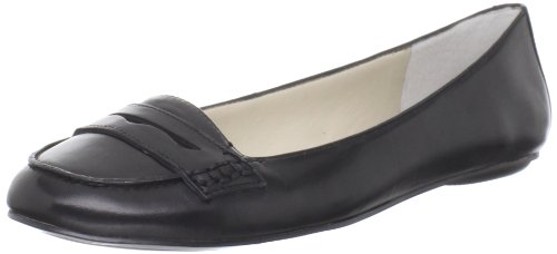 Nine West Women's Opensesame Penny Loafer,Black,7.5 M US