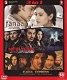 Fanaa / Kabul Express / New York (3 in 1 DVD Without Subtittle)