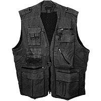 CampCo CampCo Humvee Gear Safari Photo Vest - Black - Large by CampCo