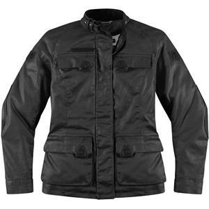 Icon Women's 1000 Akorp Jacket - X-Small/Black