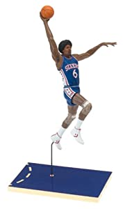 Julius Erving #6 Blue Jersey Philadelphia 76