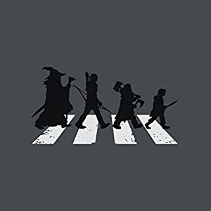 Lord of the Rings Abbey Road Crossing , Men's T-Shirt