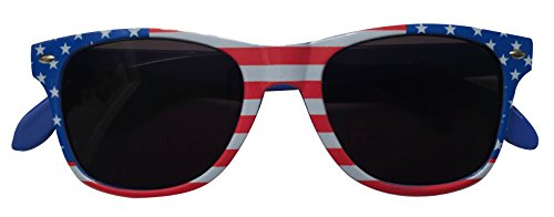 Wayfarer Style American Flag Bottle Opener Sunglasses