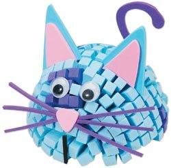 Darice Fun Foam Friends 3D Mosaic Kit Cat 10615-63; 6 Items/Order