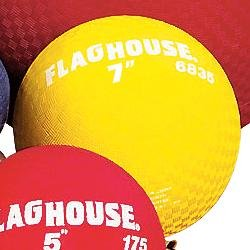 FLAGHOUSE Playground Ball - 7'' Red - 1