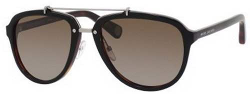 Marc Jacobs Marc Jacobs MJ470/S Sunglasses-0BG4 Black Tortoise (LA Brown Polar Lens)-56mm