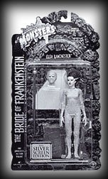 Buy Low Price Sideshow Universal Studios Monsters Elsa Lanchester The BRIDE OF FRANKENSTEIN Universal Studios Classic Monster Silver Screen Edition Action Figure (B000E9TMHY)