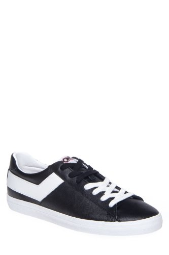 PONY Men'S Topstar Ox Leather Sneaker