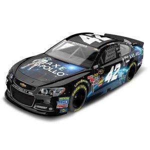 NASCAR Juan Pablo Montoya #42 Axe Apollo 1/64 Kids Hardtop Car 2013