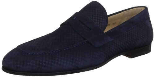 Magnanni Men's Alpes Crosta Blue Slip-Ons 7 UK