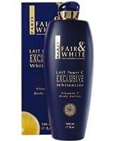 Fair and White Exclusive Vitamine C Cosmétique pour Peau Colorée Lait Power C Vitamine C 500 ml