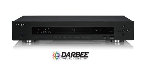 Oppo BDP103D Darbee Noir Lecteur BluRay