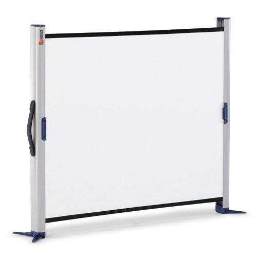 NOBO Portable Screen Desktop - Projection screen - 49 in ( 125 cm ) - 4:3