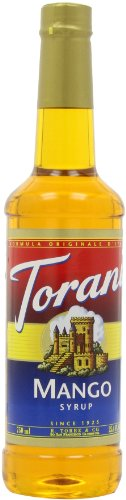 Torani Syrup, Mango, 25.4-Ounce Bottles (Pack Of 3)